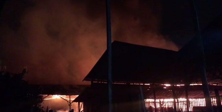 Kebakaran di Alalak Selatan