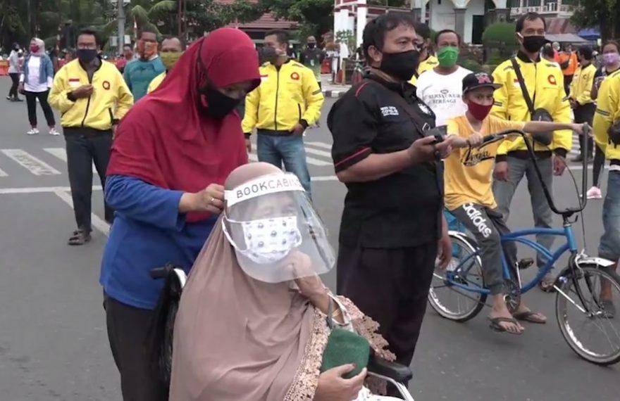 Pemko Banjarbaru Bagi - bagi Masker