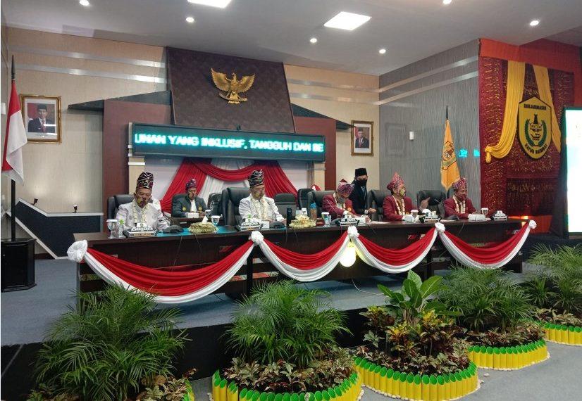 Rapat Paripurna Dalam Rangka Harjad Kota Banjarmasin