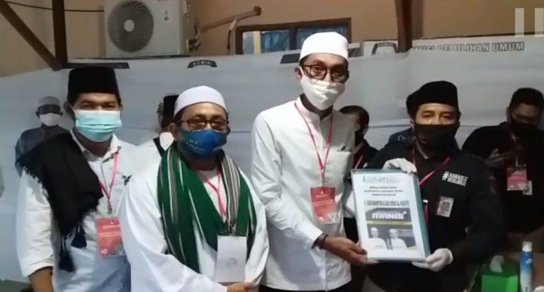 Saidi Mansyur-Habib Idrus Daftar ke KPU Banjar
