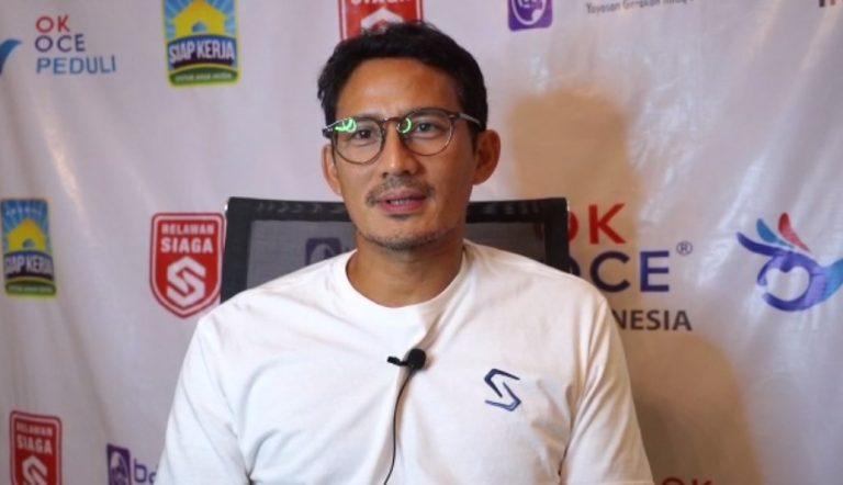 Haris-Ilham Dapat Dukungan Khusus dari Sandiaga Uno