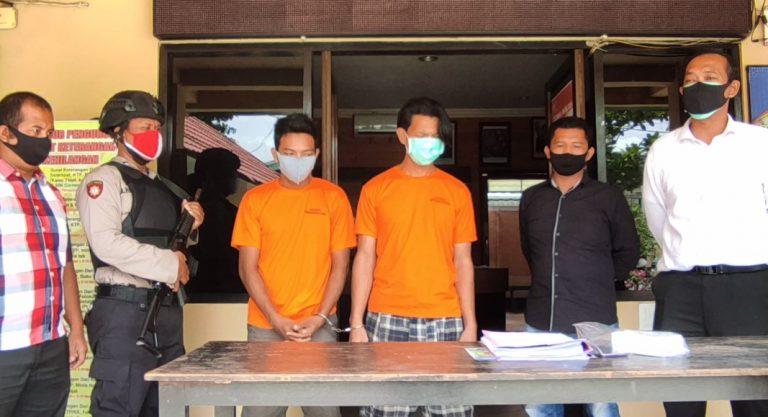 Komplotan Pelaku Jambret Ditangkap Polisi