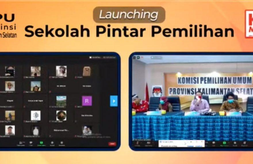 Launching Sekolah Pintar Pemilu