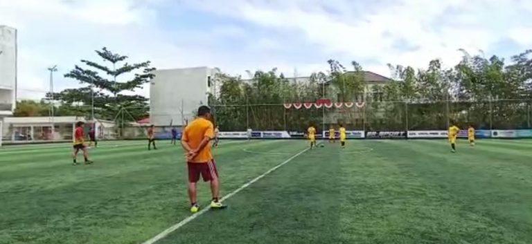 Tim Dayung Kalsel latihan Fisik Bola