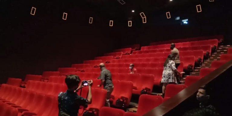 Tim Gugus Tugas Meninjau Bioskop XXI Duta Mall