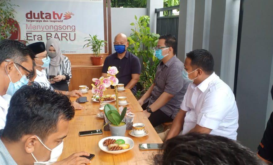 Kunjungan Haris-Ilham ke Duta TV
