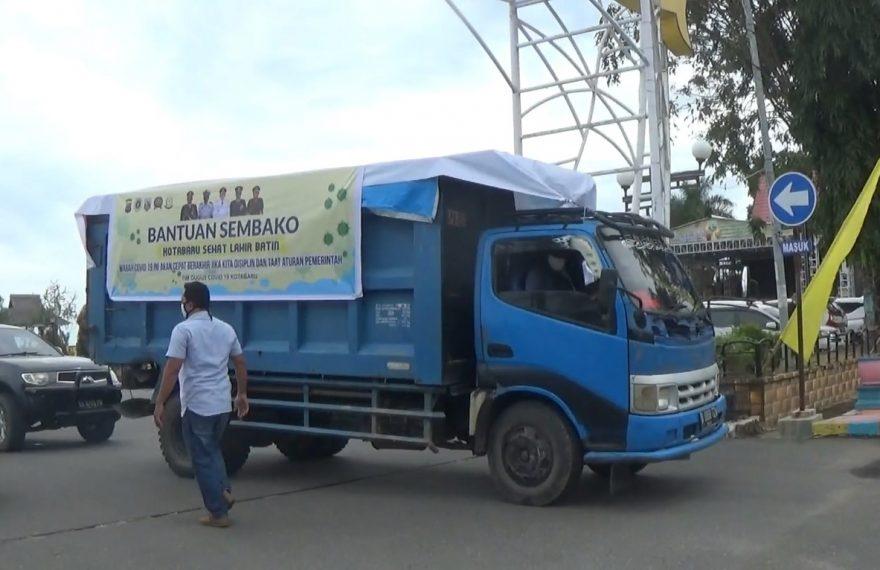 dok : bantuan Sembako Kotabaru