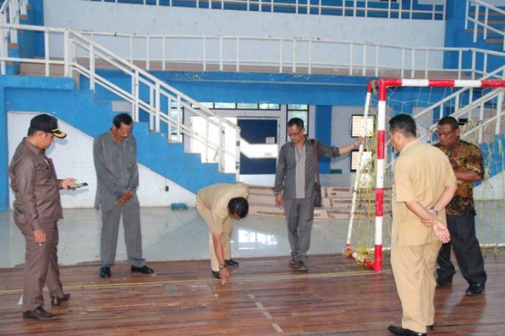 Komisi II DPRD Banjarbaru Prihatin Nasib Gor dan Kolam Renang