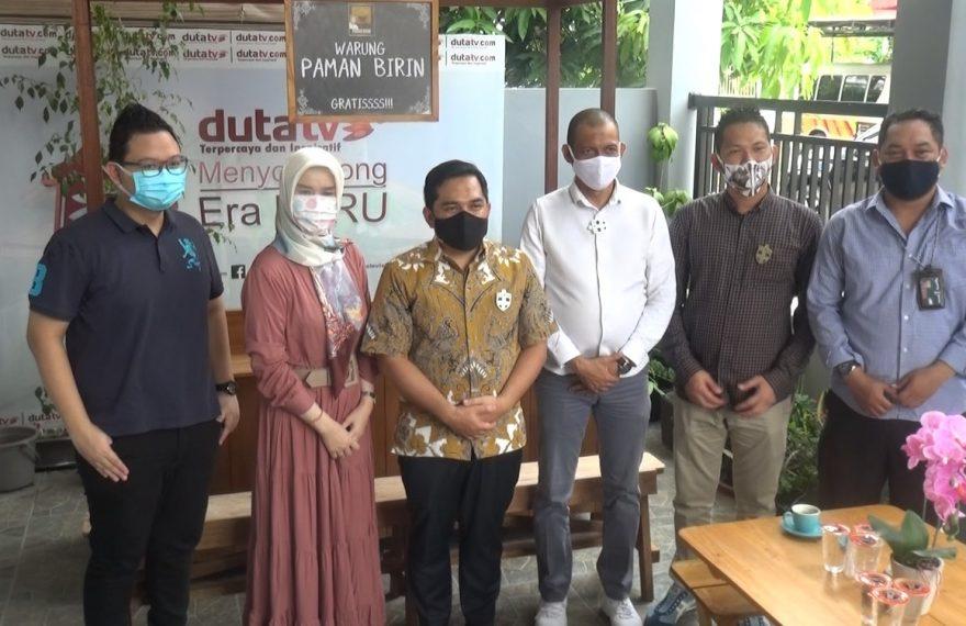 PT Duta Televisi Indonesia, mendapat kunjungan siltaturrahmi dari tim kampanye paslon gubernur dan wakil gubernur H Sahbirin Noor - H Muhidin