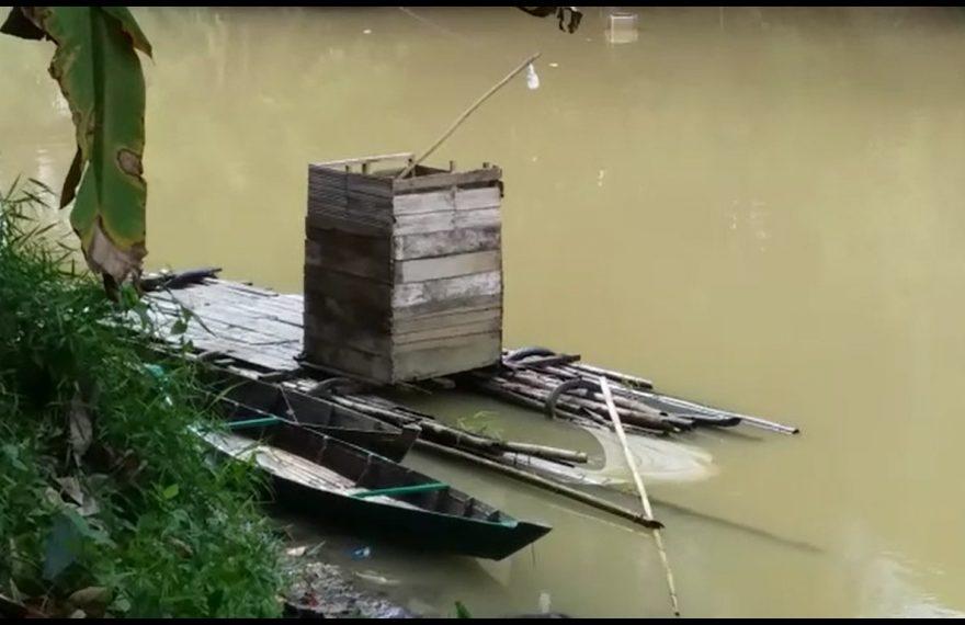 lainting tempat korban tenggelam