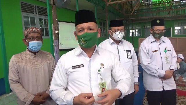 Kepala kantor kanwil Kementrian Agama provinsi Kalsel, Noor Fahmi