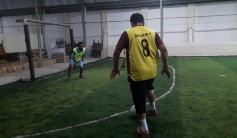 Kontra Skuad Paman Birin, Tim Futsal Pembakal 'Dihujani' Gol