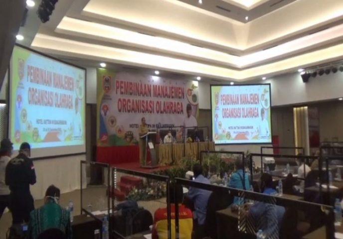 pelatihan Pembinaan Manajemen Organisasi Olahraga
