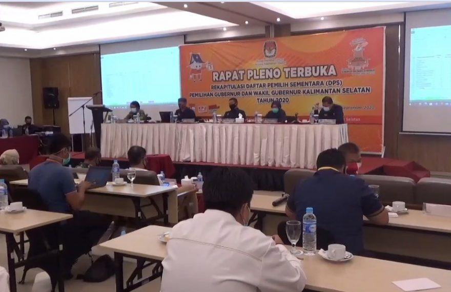 rapat pleno di Banjarmasin
