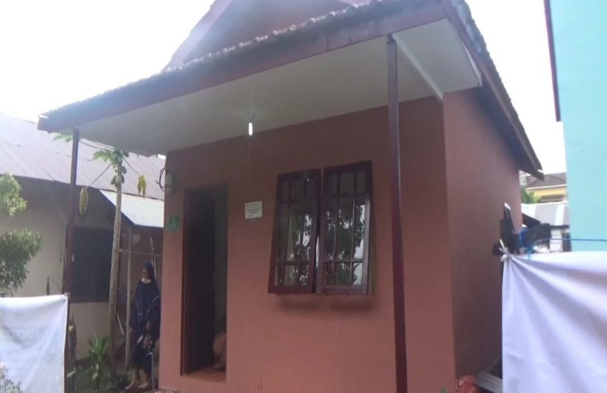 rumah baru Zaini