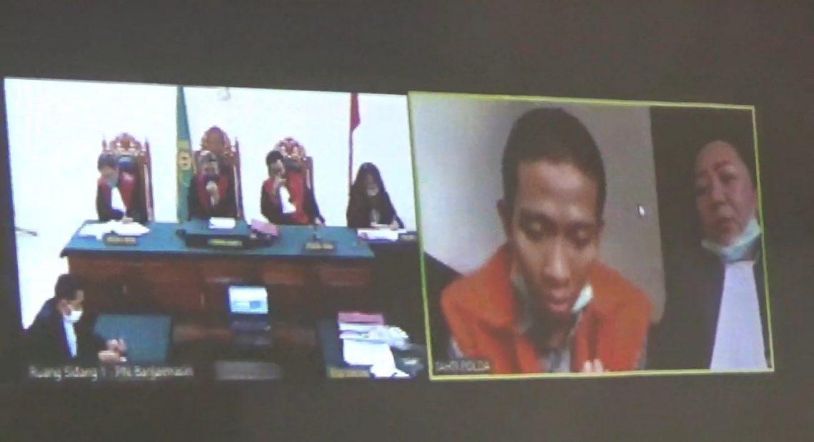 sidang virtual kasus narkoba