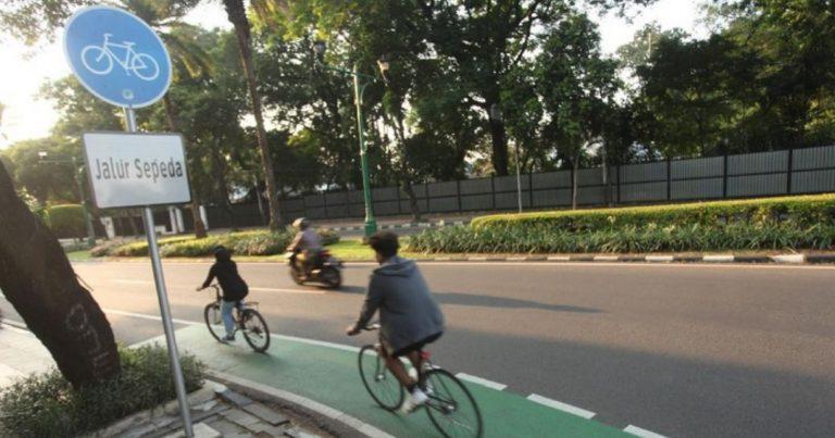 Jalur Khusus Sepeda di Banjarmasin Ditargetkan Rampung Desember