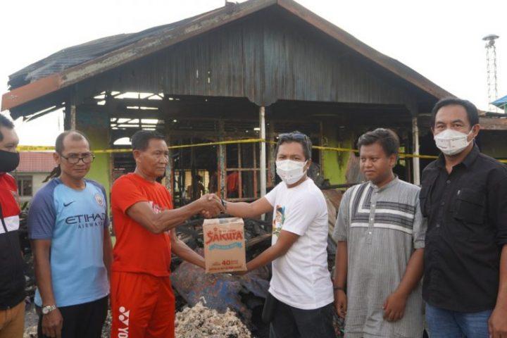 Makkie Fam Peduli Korban Kebakaran