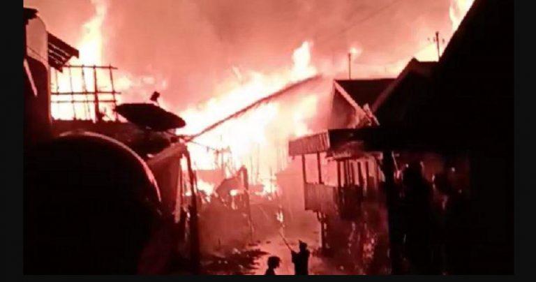 Kebakaran Kotabaru Dini Hari