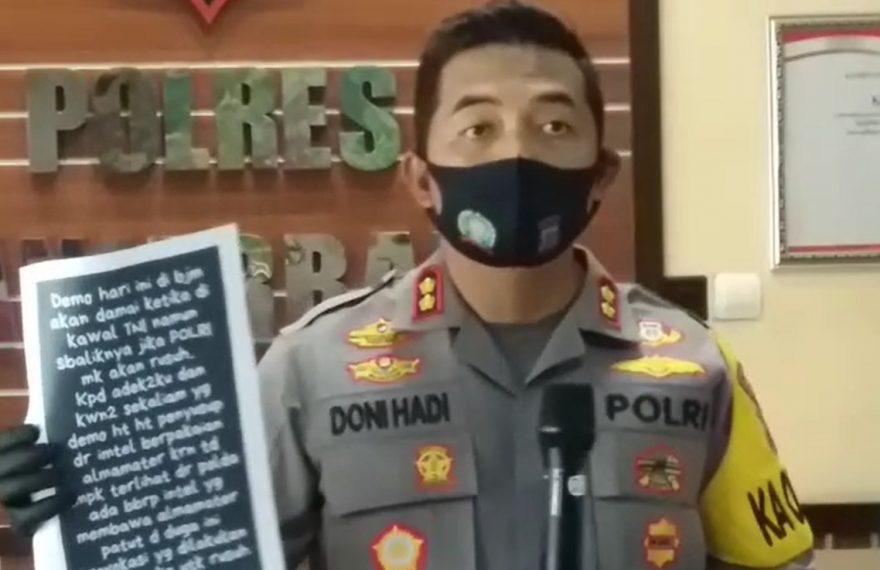 Kapolres Banjarbaru AKBP Doni Hadi