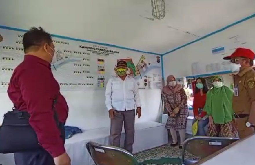 BPK RI wilayah Kalimantan Selatan Berkunjung Kampung Tangguh di Banjarmasin.