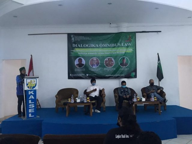HMI Suarakan Dialogika Omnibus Law Sebagai Bentuk Kritik Negara