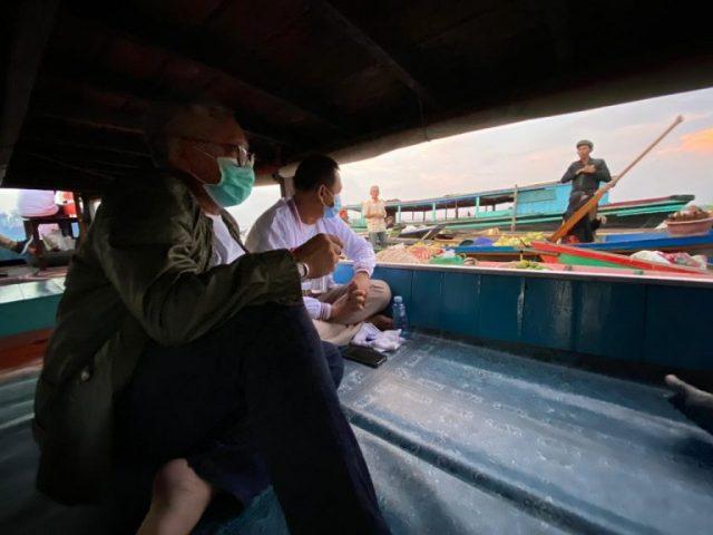 Haris - Ilham Soroti Keberadaan Pasar Terapung Kuin