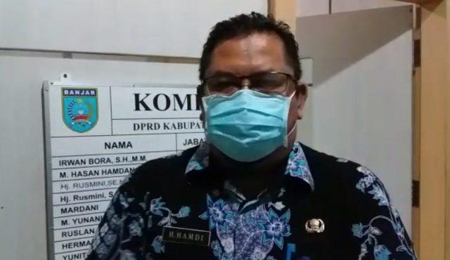 H Hamdi Sekretaris BLH Banjar