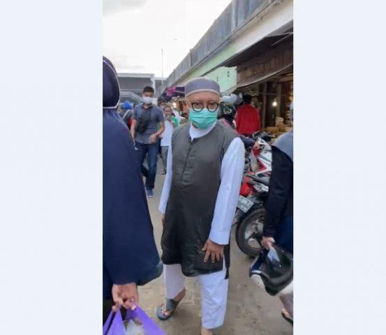 Haris makkie berkunjung ke pasar Sentra Antasari dan Pasar Lama Banjarmasin.