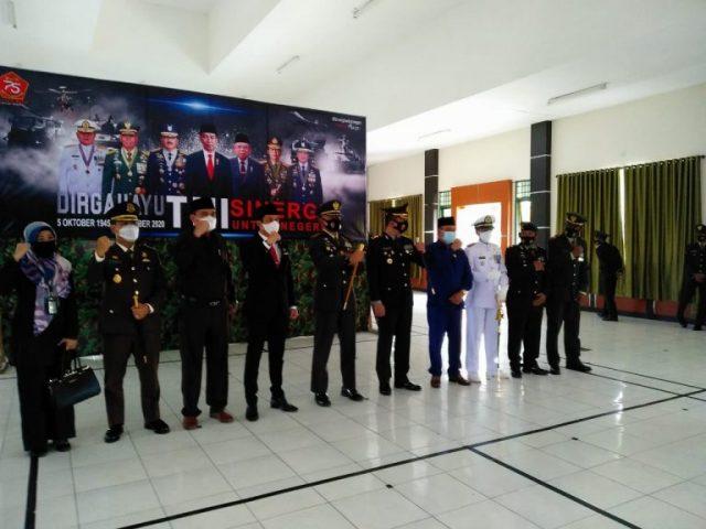 Kodim1022 Tanah Bumbu Peringatan HUT Ke-75 TNI Secara Virtual