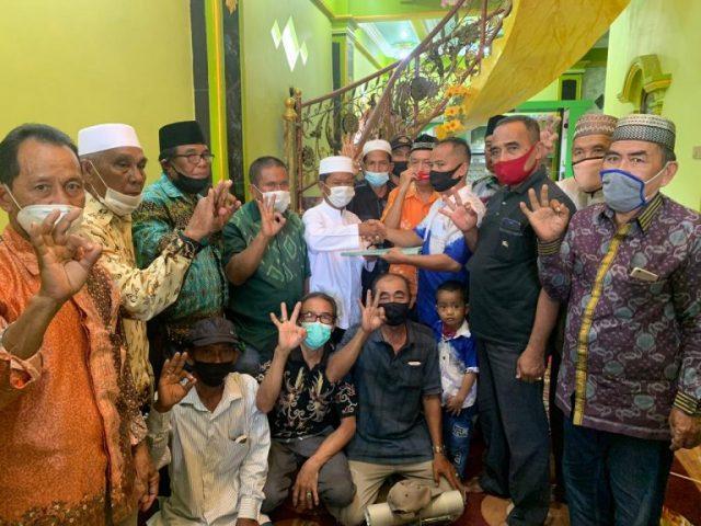 Mantan Kepala Desa Kecamatan dan Lurah se-Kusan Hilir Deklarasi Dukung Zairullah Azhar