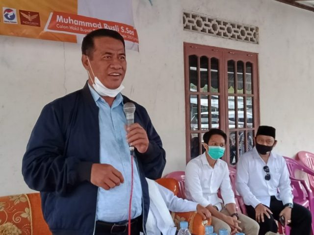 Amran Sulaiman: Pasangan ZR Bukan Mencari Jabatan Tetapi Pengabdian Untuk Masyarakat Tanah Bumbu