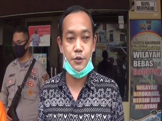 IPDA Hendra Agustian Ginting Kanit Reskrim Polsek Banjarmasin Utara