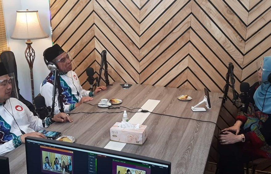 Ibnu-Arifin siaran podcast di SC Vision