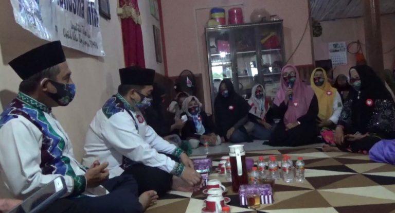 Ibnu Sina-Arifin Noor, melakukan silaturahmi bersama relawan Galuh Borneo dan Garuda Banua