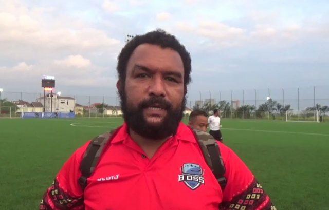 Jusuf Luluporo Pelatih BOSS FC