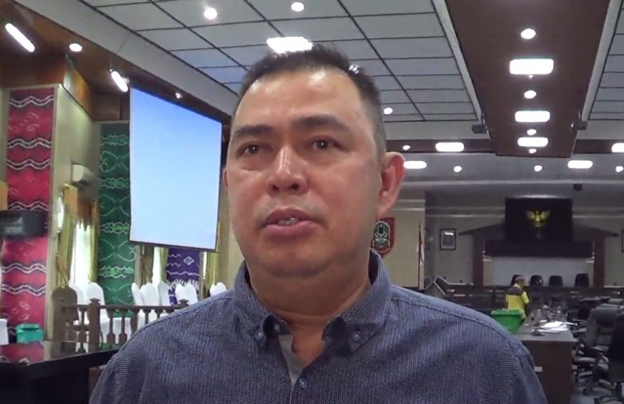 Ketua komisi lll DPRD Banjarmasin M. Isnaini