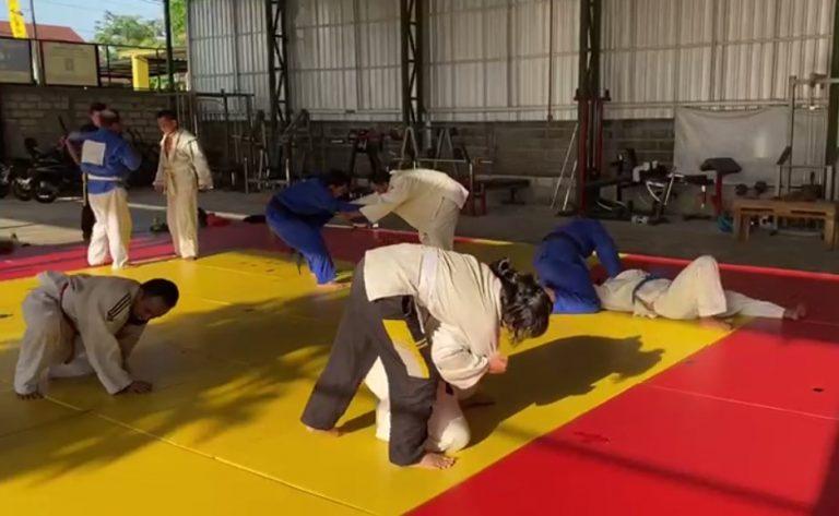Latihan Para Atlet Judo Tunanetra