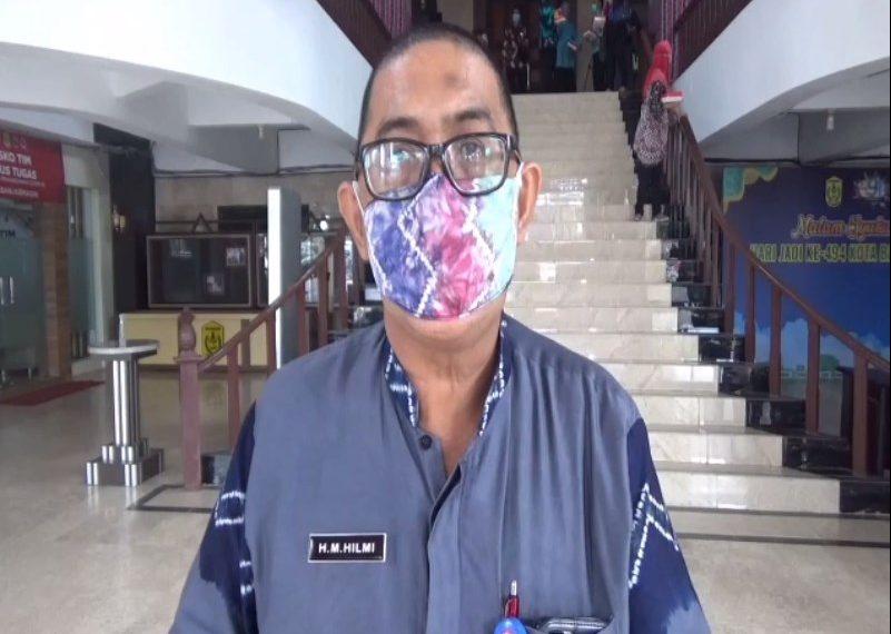 M. Hilmi Kepala BPBD Kota Banjarmasin