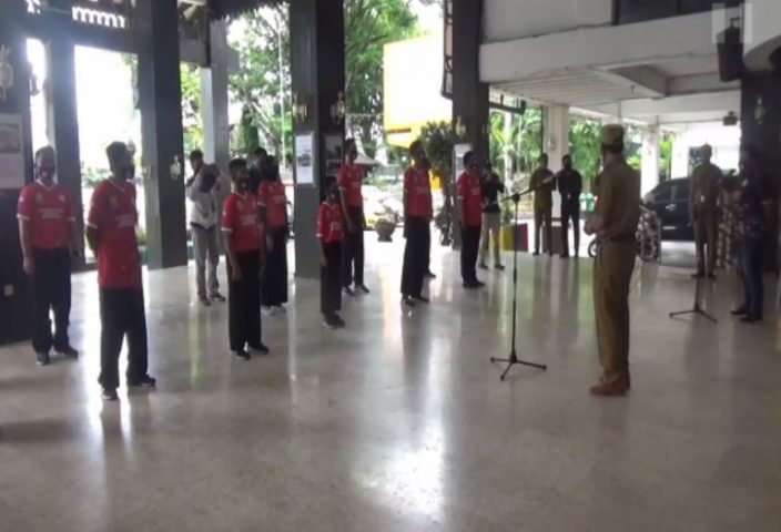 Siapkan Lomba Silat Budaya di Portugal, APPSBI Banjarmasin Pelatnas ke Jakarta