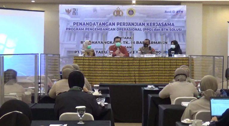 Perjanjian Kerjasama Antara Bank BTN dengan RS Bhayangkara Banjarmasin