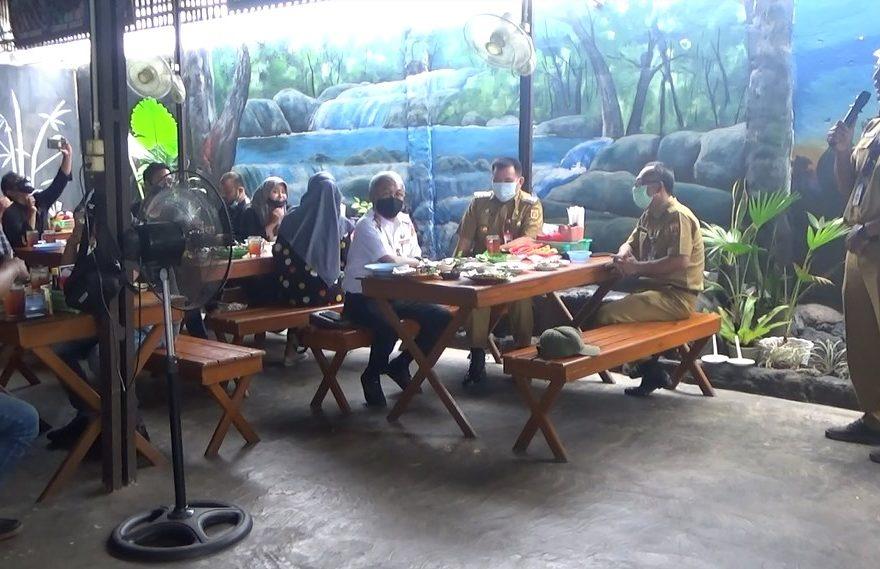 Pertemuan PJS Wali Kota Banjarbaru dengan awak media
