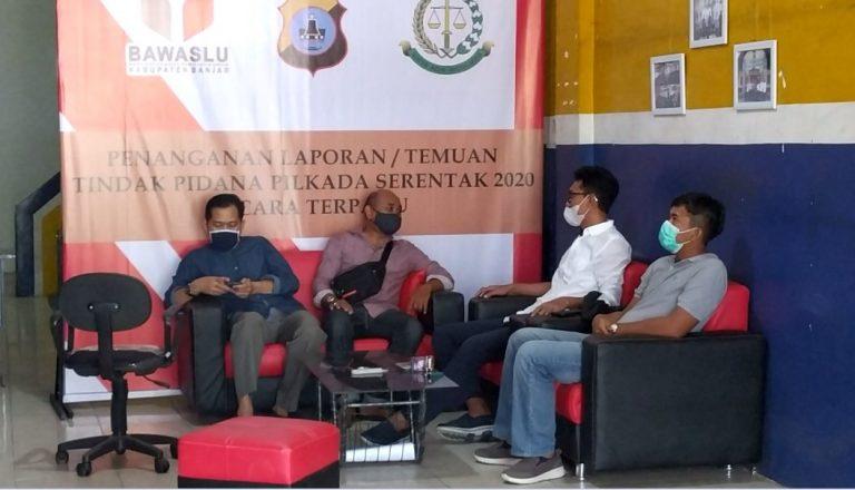 H. Saidi Mansyur memenuhi panggilan tim Gakkumdu Kabupaten Banjar