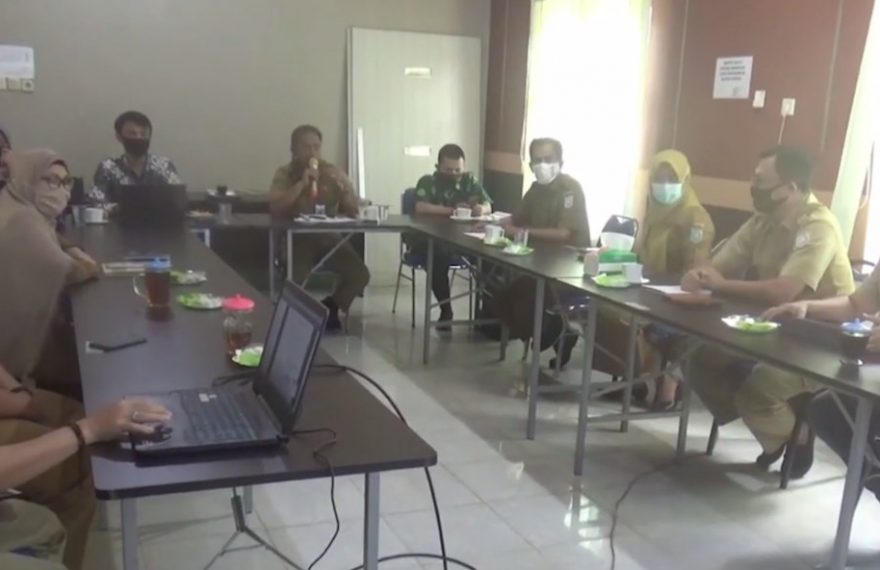 Tim Badans Siber Sandi Negara ke Pemkab Banjar