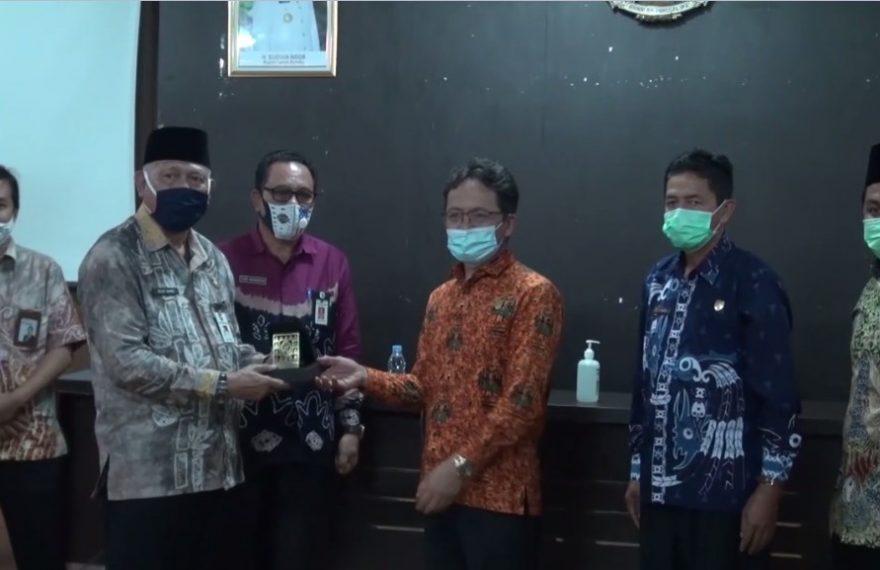 Wabup Terima Kunker DPRD Provinsi Kalimantan Tengah