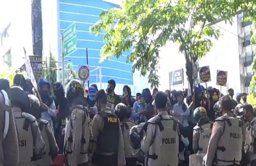 1000 aparat gabungan diturunkan untuk Menjaga Aksi Demo