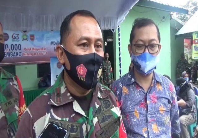 Mayor Czi Tandra Wideru, Danramil 1007-03, Banjarmasin Barat Tengah