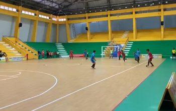 pertandingan futsal tanpa penonton