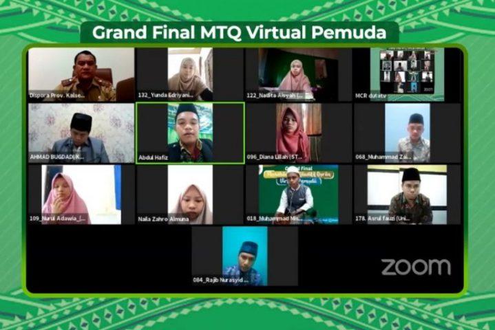40 Pemuda dan Pemudi Masuk Grand Final MTQ Virtual Pemuda