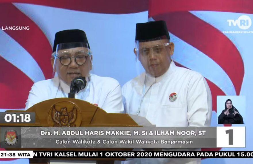 Haris Makkie (kiri) dan Ilham Nor (kanan)